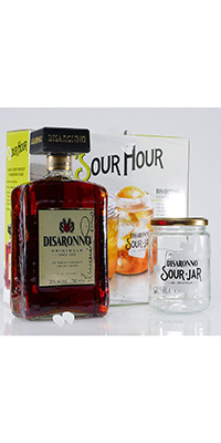 AMARETTO DISARONNO SOUR GIFT PACK DISARONNO AMARETTO KIT SOUR JAR