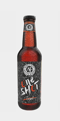 BIRRA ONE SHOT AEFFE - TRIPLE AEFFE ONE SHOT 33 cl - TRIPLE