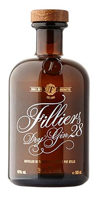 "DRY GIN ""28"" FILLIERS FILLIERS DRY GIN ""28"""