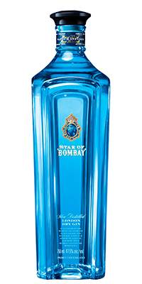 STAR OF BOMBAY LONDON DRY GIN STAR OF BOMBAY LONDON DRY GIN