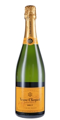 CHAMPAGNE BRUT YELLOW LABEL VEUVE CLICQUOT - VEUVE CLICQUOT BRUT YELLOW LABEL