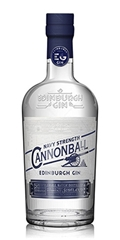GIN CANNONBALL NAVY STRENGTH EDINBURGH - EDINBURGH GIN CANNONBALL NAVY STRENGTH